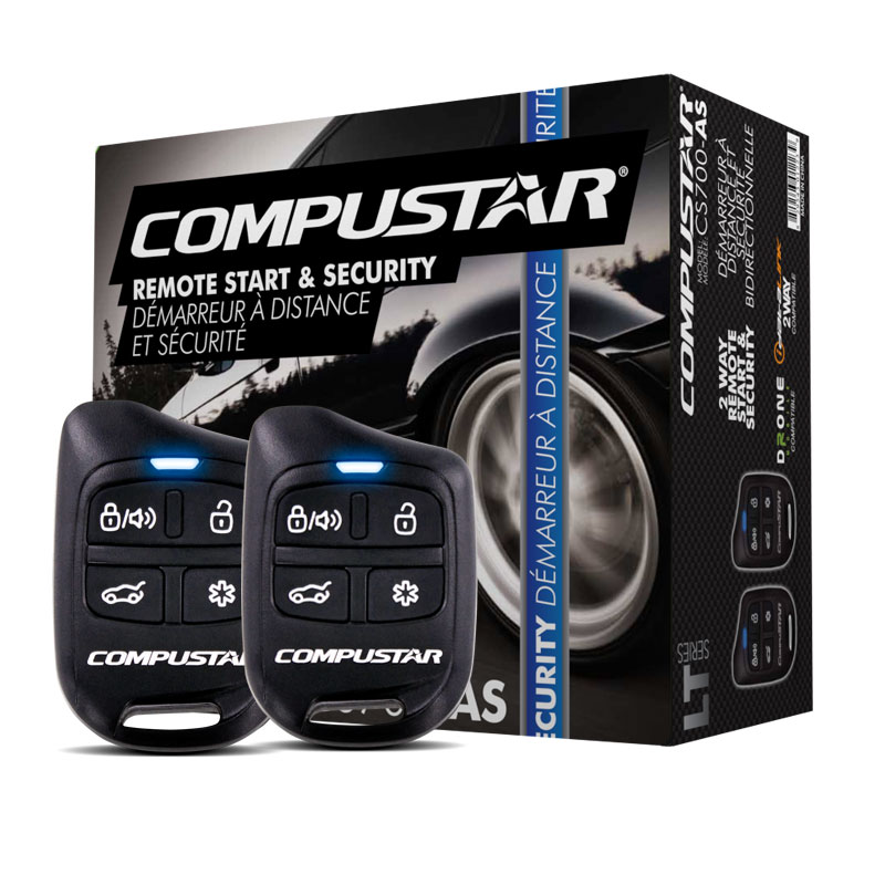 CompuSTAR CS700-AS Car Alarm /& Remote Starter System /& Security /& ADS-ALCA NEW