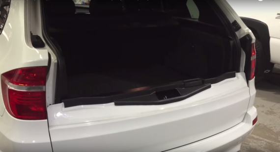 Hidden Subwoofer Enclosure for BMW X5 M