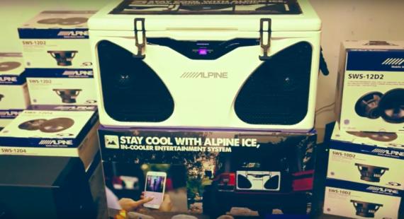 Alpine 56 Quart ICE COOLER (PWD-CB1 ICE)