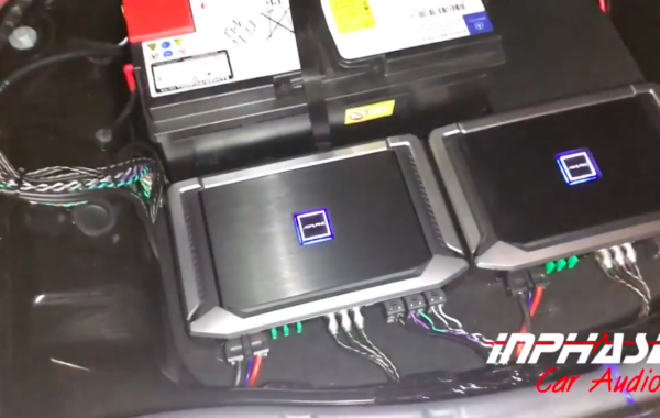 BENZ S550 with Hidden System (Alpine X Series Amps)